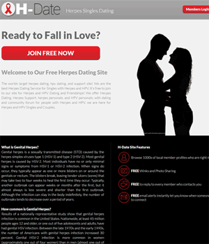 Free Herpes Dating Site H-Date